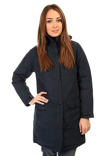 Куртка парка женская Penfield Miller Long Mountain Parka Jacket Navy