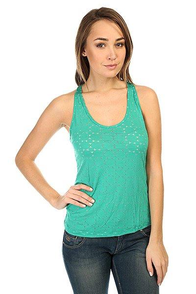 Майка женская CajuBrasil Spike T-Shirt Green<br><br>Цвет: зеленый<br>Тип: Майка<br>Возраст: Взрослый<br>Пол: Женский