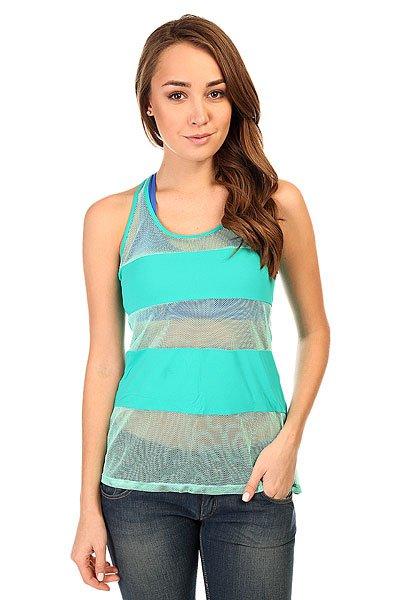 Майка женская CajuBrasil Interflat T-Shirt Blue<br><br>Цвет: голубой<br>Тип: Майка<br>Возраст: Взрослый<br>Пол: Женский