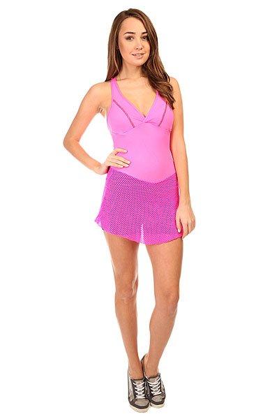 Комбинезон для фитнеса женский CajuBrasil Trend Suit Jump PinkОсновными критериями в создании одежды торговой марки CajuBrasil являются качество, прочность, долговечность, удобство и конечно же стиль. Наша одежда создана, чтобы подчеркнуть Ваши достоинства и сделать занятия спортом максимально удобными и продуктивными. Будь стильной и модной даже при занятиях спортом.Характеристики:Изготовлен из полиамида и эластана.Верх с лифом и удлиненной юбкой. Эластичные короткие шорты.Мягкие обработанные швы.<br><br>Цвет: розовый<br>Тип: Комбинезон для фитнеса<br>Возраст: Взрослый<br>Пол: Женский
