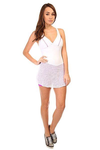 Комбинезон для фитнеса женский CajuBrasil Trend Suit Jump White коралл набор кухонных принадлежностей коралл романтика 902083 9lk5jxw