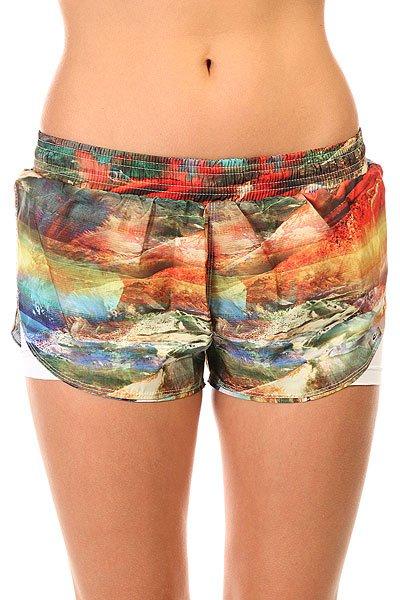 Шорты пляжные женские CajuBrasil Tafetб Beach Shorts Multi пляжные женские шорты цена