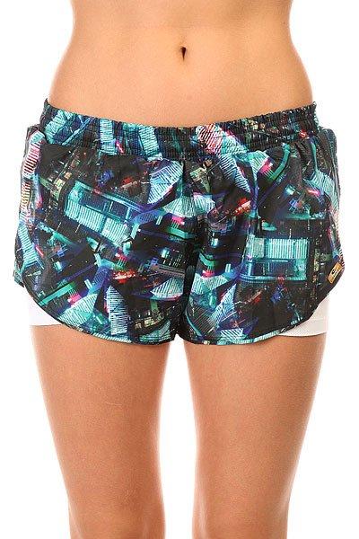 Шорты пляжные женские CajuBrasil Tafet6 Bus Shorts Multi пляжные женские шорты цена
