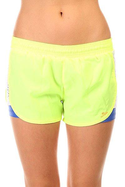 ����� ������� ������� CajuBrasil Tafet� Shorts Yellow