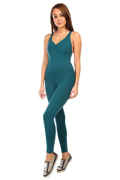 Комбинезон для фитнеса женский CajuBrasil New Zealand Anback Overall GreenОсновными критериями в создании одежды торговой марки CajuBrasil являются качество, прочность, долговечность, удобство и конечно же стиль. Наша одежда создана, чтобы подчеркнуть Ваши достоинства и сделать занятия спортом максимально удобными и продуктивными. Будь стильной и модной даже при занятиях спортом.Характеристики:Изготовлен из полиамида и эластана.Цельный силуэт с длинными облегающими брюками.Мягкие обработанные швы.<br><br>Цвет: зеленый<br>Тип: Комбинезон для фитнеса<br>Возраст: Взрослый<br>Пол: Женский