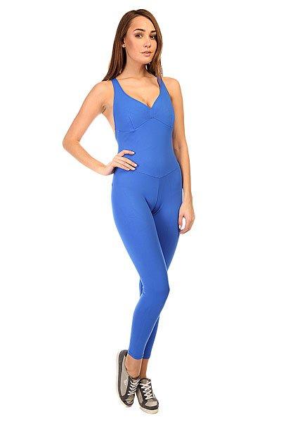 Комбинезон для фитнеса женский CajuBrasil New Zealand Overall Blue