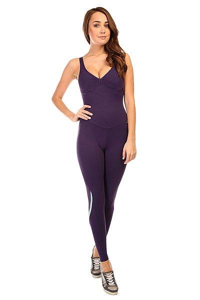 Комбинезон для фитнеса женский CajuBrasil New Zealand Overall PurpleЖенский комбинезон из высокотехнологичной ткани с высокой степенью сжатия для комфортных и безопасных занятий фитнесом.Технические характеристики: Ткань с высокой степенью сжатия обеспечивает лучший приток крови, а также придает эстетический эффект - маскирует неровные участки на теле, скрывает признаки целлюлита, а также придает стройности силуэту.Тонкие лямки.Застежка на спине.Открытая спинка.Следует избегать использования агрессивных моющих средств.Сочная цветовая гамма.<br><br>Цвет: фиолетовый<br>Тип: Комбинезон для фитнеса<br>Возраст: Взрослый<br>Пол: Женский