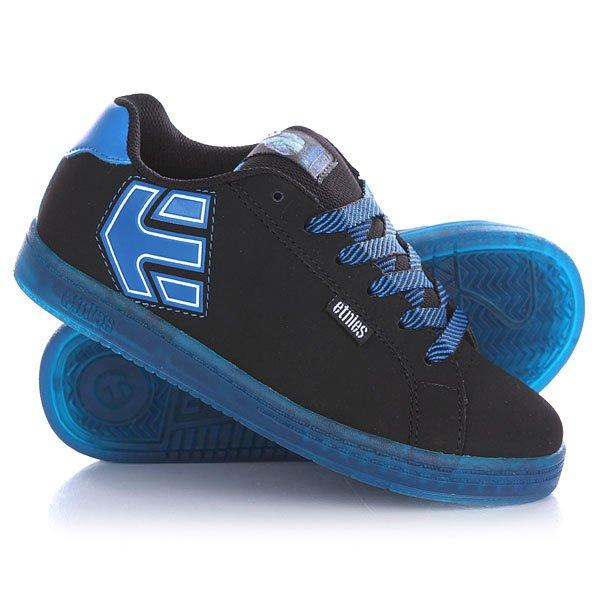 Кеды кроссовки низкие детские Etnies Disney Monsters Fader Black/Blue