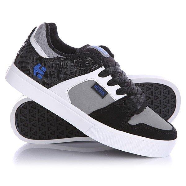 Кеды кроссовки низкие детские Etnies Rockfield Black/Grey/White кеды кроссовки низкие детские quiksilver beacon black grey white