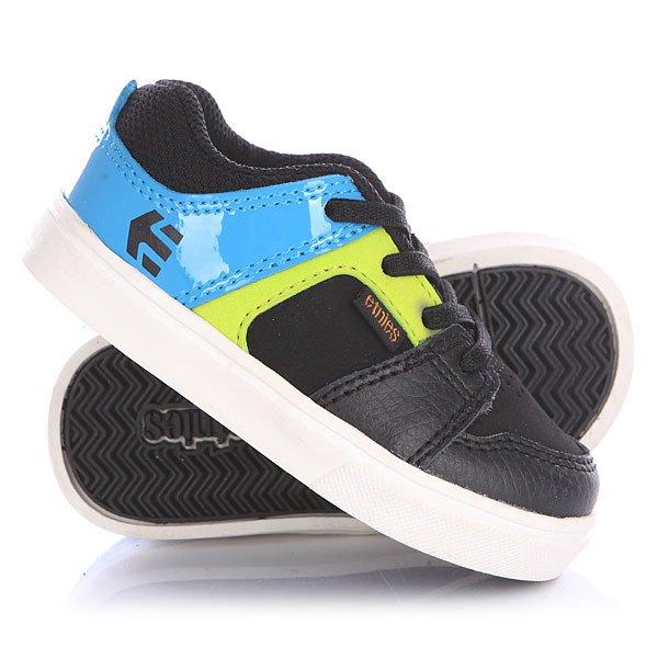 Кеды кроссовки низкие детские Etnies Rockfield Black/Blue кеды кроссовки низкие детские quiksilver beacon blue white
