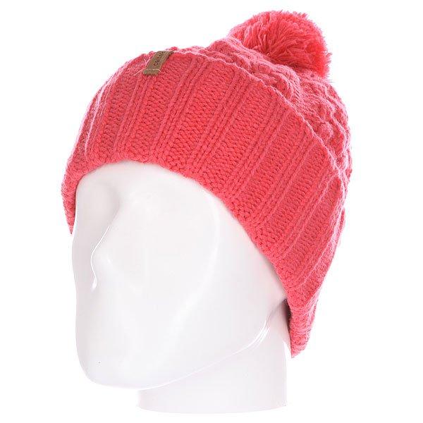 Шапка женская Celtek Sienna Beanie Coral celtek station patch beanie pink floyd