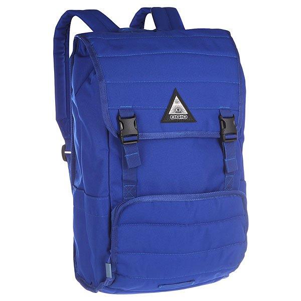 Рюкзак туристический Ogio Ruck Pack BlueКомпактный городской рюкзак с продуманным внутренним пространством и городским функционалом: отдельный отсек для 17-дюймового ноутбука, карман на молнии для планшета и внешний отсек для небольших гаджетов. С рюкзаком Ruck  у Вас не возникнет проблем с поиском необходимого девайса, а небольшой размер и стильный дизайн позволят носить самое необходимое, сохраняя аккуратность общего силуэта.Характеристики:Мягкие лямки.Внешний карман на молнии с органайзером для мелочей и с сетчатыми карманами.Отсек в основном отделениидля 17-дюймового ноутбука.Небольшие карман внутри основного отделения.Внешний карман на молнии для планшета, спрятанный под основным клапаном.Клапан рюкзака застегивается на две пряжки.Логотип на внешней стороне.Боковые карманы для бутылок.Ручка для переноски.Молнии YKK.<br><br>Цвет: синий<br>Тип: Рюкзак туристический<br>Возраст: Взрослый