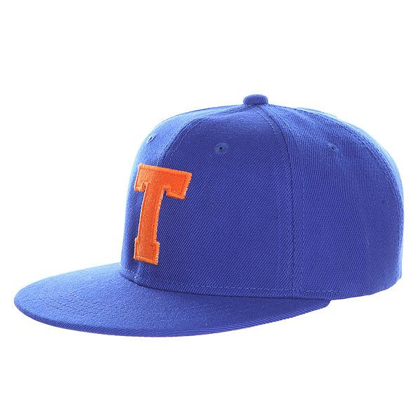 Бейсболка с прмым козырьком TrueSpin Abc Royal T<br><br>Цвет: синий<br>Тип: Бейсболка с прмым козырьком<br>Возраст: Взрослый