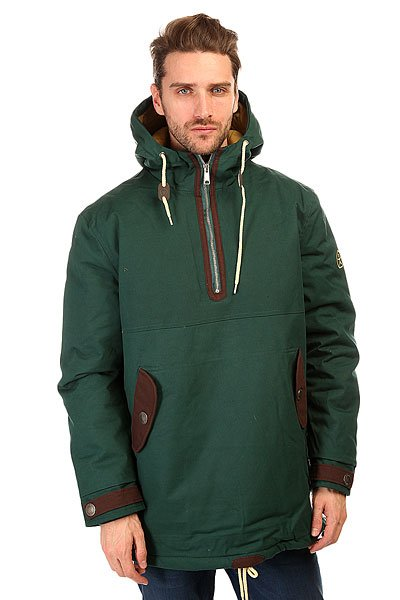 Анорак Запорожец Retro Anorak Dark Green