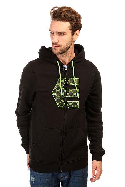 Толстовка классическая Etnies Icon Fill Zip Fleece Black<br><br>Цвет: черный<br>Тип: Толстовка классическая<br>Возраст: Взрослый<br>Пол: Мужской