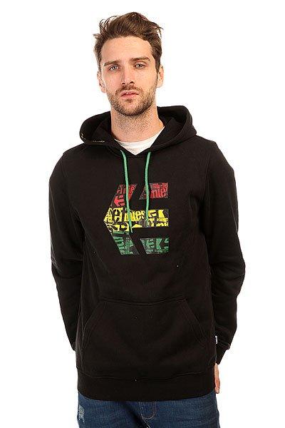 Толстовка кенгуру Etnies Icon Fill Fleece Black/Print<br><br>Цвет: черный<br>Тип: Толстовка кенгуру<br>Возраст: Взрослый<br>Пол: Мужской