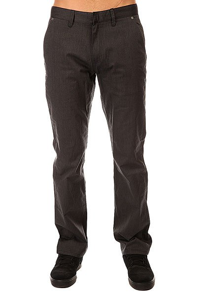 Штаны широкие Etnies Rojo Chino Pant Grey/Heath штаны прямые billabong new order chino khaki
