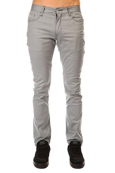 Штаны Штаны узкие Etnies Slim 5 Pant Light Grey от Proskater