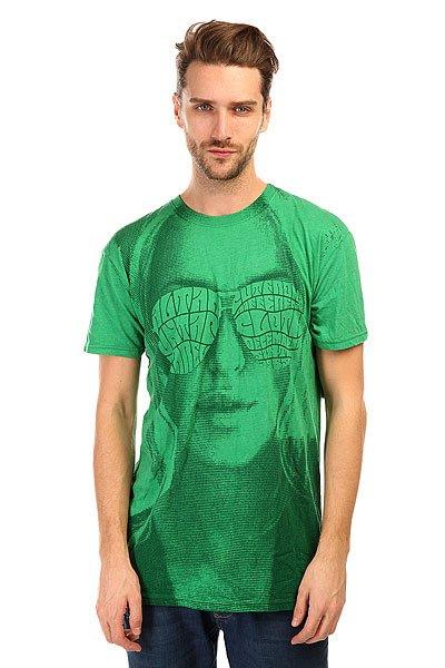 Футболка Altamont Bright Eyes Tee Green/Heath<br><br>Цвет: зеленый<br>Тип: Футболка<br>Возраст: Взрослый<br>Пол: Мужской