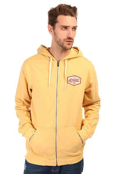 Толстовка классическая Altamont Cutty Zip Fleece Gold<br><br>Цвет: желтый<br>Тип: Толстовка классическая<br>Возраст: Взрослый<br>Пол: Мужской