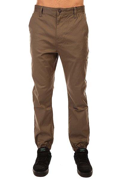 Штаны прямые Altamont Sawtelle Jogger Pant Olive<br><br>Цвет: зеленый<br>Тип: Штаны прямые<br>Возраст: Взрослый<br>Пол: Мужской