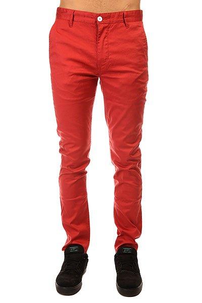 Штаны узкие Altamont Rover Slim Chino Brick штаны прямые billabong new order chino khaki