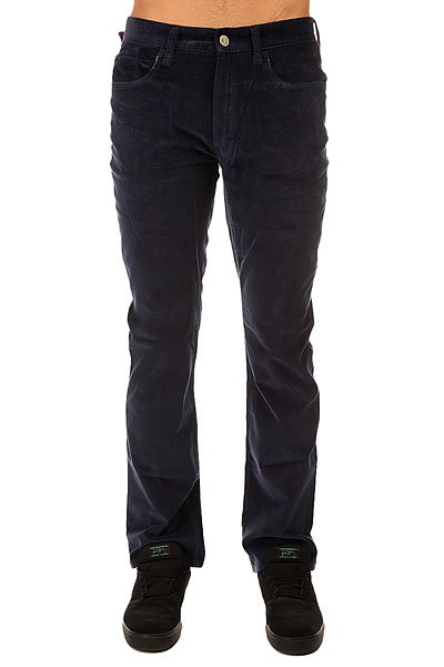 Штаны прямые Altamont Wilshire Five Pocket Cord Navy джинсы мужские altamont wilshire