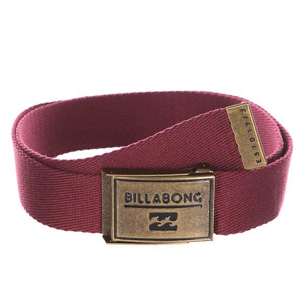 Ремень Billabong Sergeant Belt Wine