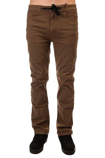 Штаны прямые Innes Tres Pirates Brown<br><br>Цвет: коричневый<br>Тип: Штаны прямые<br>Возраст: Взрослый<br>Пол: Мужской