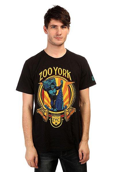 Футболка Zoo York Krysler King Black<br><br>Цвет: черный<br>Тип: Футболка<br>Возраст: Взрослый<br>Пол: Мужской