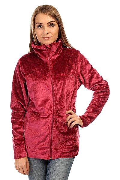 Толстовка утепленная женская Billabong Fleecy Sangria<br><br>Цвет: фиолетовый<br>Тип: Толстовка утепленная<br>Возраст: Взрослый<br>Пол: Женский