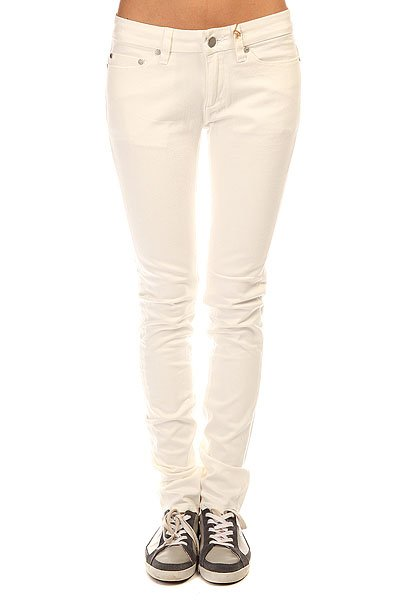 Джинсы узкие женские Insight Beanpole Skinny Raw White краска в д ослепительно белая dulux 10 л