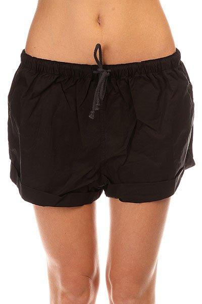 Шорты пляжные женские Insight Stickshift Shorts Floyd Black<br><br>Цвет: черный<br>Тип: Шорты пляжные<br>Возраст: Взрослый<br>Пол: Женский