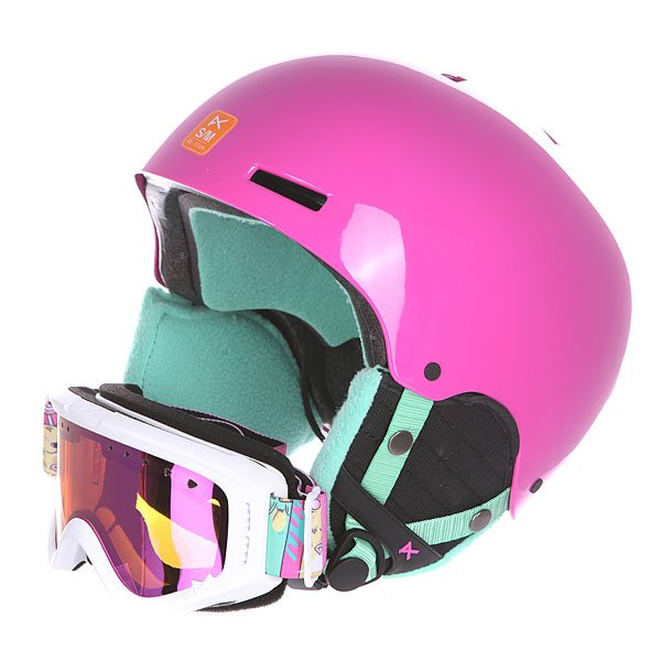 Шлем для сноуборда с маской детские Anon Combo Pack Sweet Tooth Eu