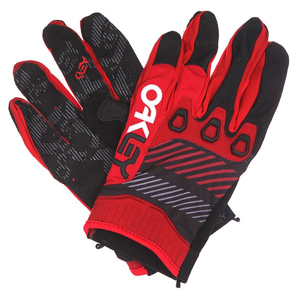 Перчатки Oakley Automatic Glove Red Line