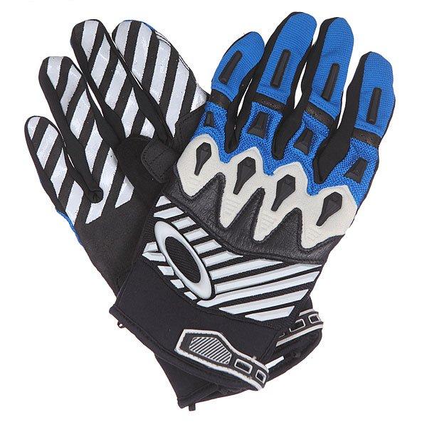Перчатки Oakley Overload Glove Blue Line