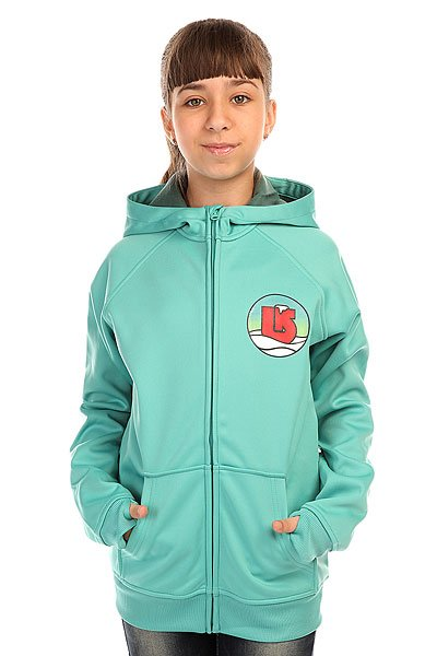 Толстовка сноубордическая детская Burton Scoop Hdd Lagoon Blue<br><br>Цвет: серый<br>Тип: Толстовка сноубордическая<br>Возраст: Детский