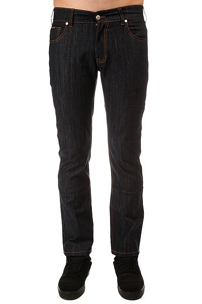 Джинсы прямые Osiris Wahlberg Standard Fit Denim Raw Indigo