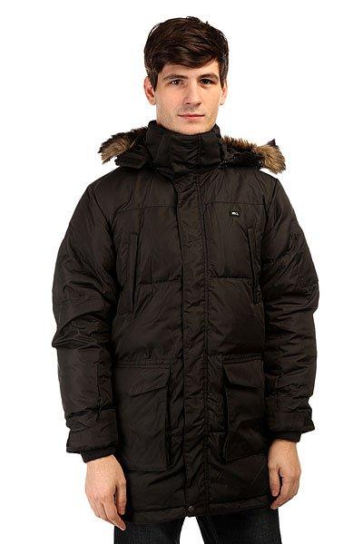 Куртка парка K1X Goosebump Defender BlackКлассическая теплая куртка парка от немецкого бренда K1X.Технические характеристики: Воротник-стойка.Нагрудные карманы.Карманы для рук на кнопках.Внутренние карманы.Трикотажные манжеты.Регулируемые манжеты на липучках.Подол с утяжкой.Застежка - молния и липучки.<br><br>Цвет: черный<br>Тип: Куртка парка<br>Возраст: Взрослый<br>Пол: Мужской