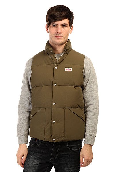 Жилетка Penfield Outback Down Vest Lichen