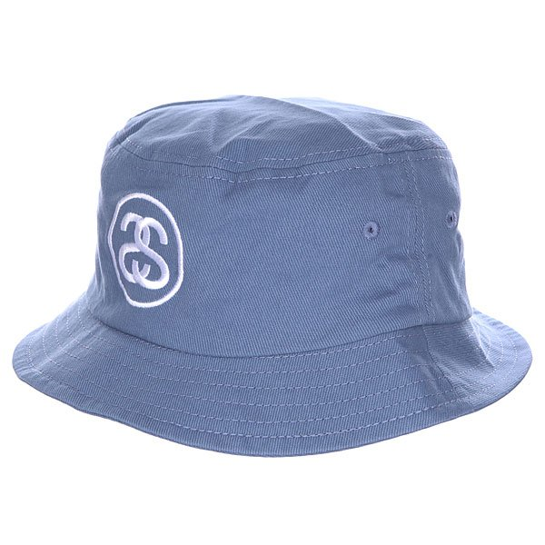 Панама Stussy Link Fa15 Bucket Hat Light Blue