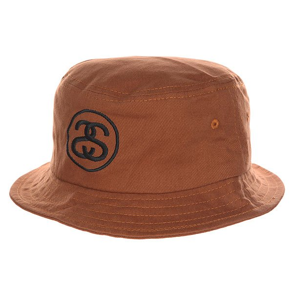 Панама Stussy Link Fa15 Bucket Hat Mustard