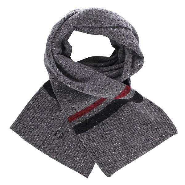 Шарф Fred Perry Tipped Scarf Grey