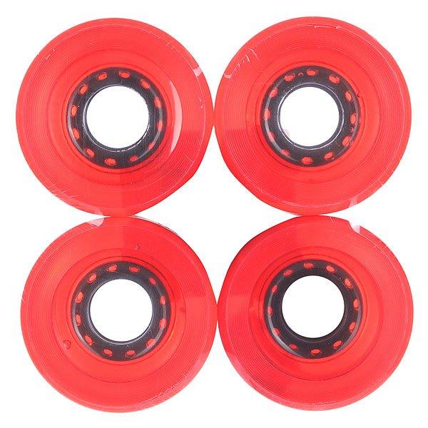 Колеса для скейтборда для лонгборда Pure Longboard Red Clear 83A 51 mmДиаметр: 51 mm    Жесткость: 83A    Цена указана за комплект из 4-х колес Улучшенные колеса для лучшего катания. Характеристики:Форма губы - круглая. Диаметр: 51 мм. Жесткость: 83 А.<br><br>Цвет: красный<br>Тип: Колеса для лонгборда