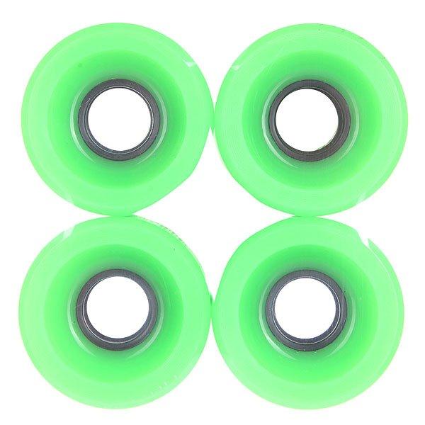 Колеса для скейтборда для лонгборда Pure Longboard Deep Green 83A 51 mmДиаметр: 51 mm    Жесткость: 83A    Цена указана за комплект из 4-х колес Улучшенные колеса для лучшего катания. Характеристики:Форма губы - круглая. Диаметр: 51 мм. Жесткость: 83 А.<br><br>Цвет: зеленый<br>Тип: Колеса для лонгборда