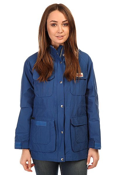 Куртка женская Penfield Kasson Hooded Mountain Parka Cobalt