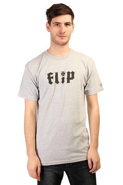 Футболка Flip Metalhead Athe Grey<br><br>Цвет: серый<br>Тип: Футболка<br>Возраст: Взрослый<br>Пол: Мужской