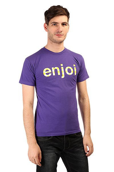 Футболка Enjoi Gingham Purple футболка enjoi outlines purple