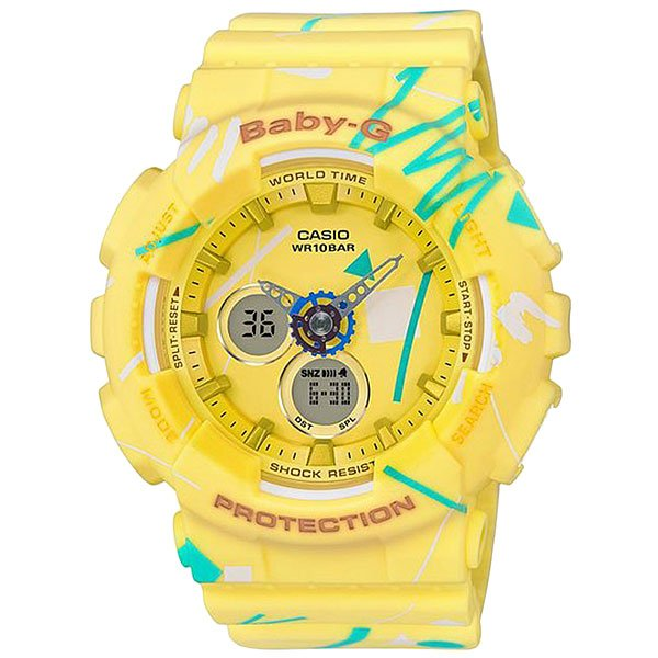 Часы детские Casio G-Shock Baby-G Ba-120sc-9a Yellow