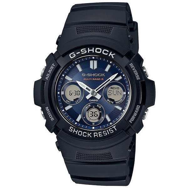 Часы Casio G-Shock Awg-M100sb-2a Black наручные часы casio g shock awg m100s 7a
